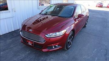 2014 Ford Fusion for sale in West Union, IA