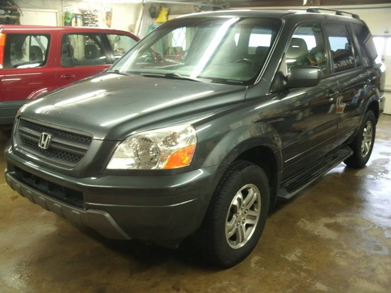 2003 Honda Pilot 4dr EX-L 4WD SUV w/ Leather and Entertainment System - Holland MI