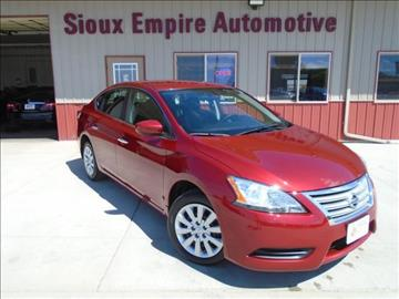 2014 Nissan Sentra for sale in Tea, SD
