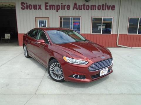 2014 Ford Fusion for sale in Tea, SD