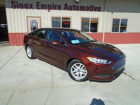 2015 Ford Fusion for sale in Tea, SD
