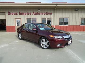2012 Acura TSX for sale in Tea, SD