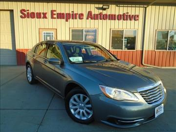 2012 Chrysler 200 for sale in Tea, SD