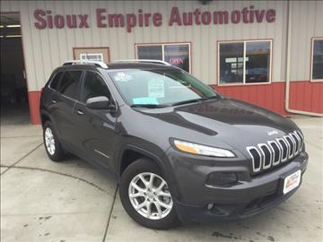 2016 Jeep Cherokee for sale in Tea, SD