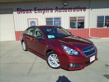 2014 Subaru Legacy for sale in Tea, SD
