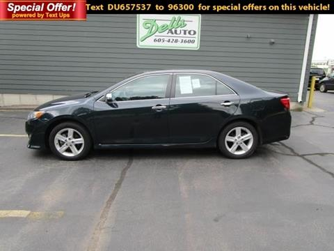 2013 Toyota Camry for sale in Dell Rapids, SD