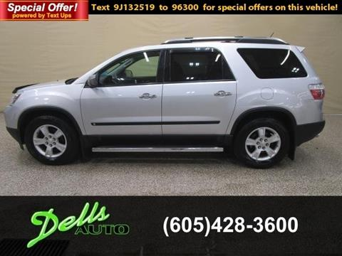 2009 GMC Acadia for sale in Dell Rapids, SD