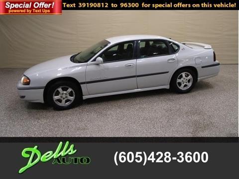 2003 Chevrolet Impala for sale in Dell Rapids, SD