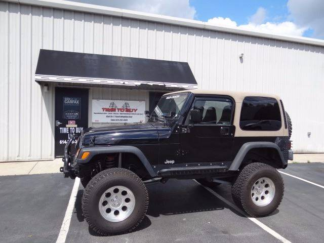 2001 Jeep Wrangler for sale at Time To Buy Auto in Baltimore OH