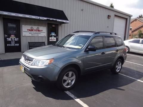 2011 Subaru Forester for sale at Time To Buy Auto in Baltimore OH