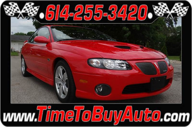 2006 Pontiac GTO for sale at Time To Buy Auto in Baltimore OH