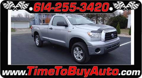 2008 Toyota Tundra for sale at Time To Buy Auto in Baltimore OH