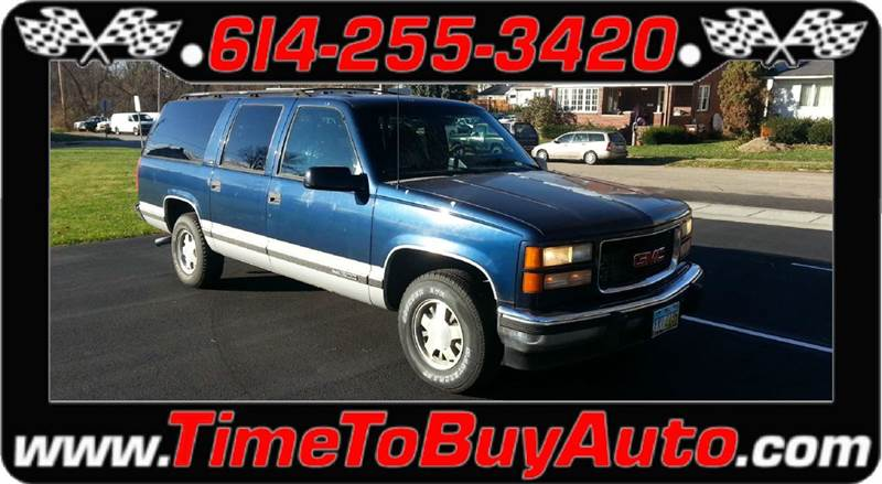 1994 GMC Suburban for sale at Time To Buy Auto in Baltimore OH