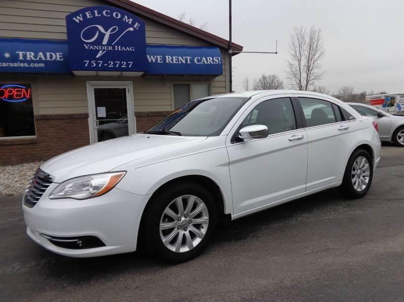 2013 Chrysler 200 for sale at VanderHaag Car Sales LLC in Scottville MI