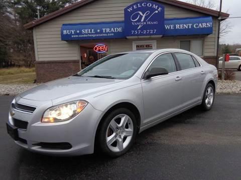 2011 Chevrolet Malibu for sale at VanderHaag Car Sales LLC in Scottville MI