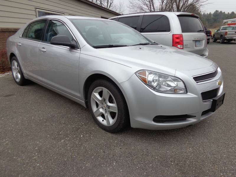 2012 chevrolet malibu ls fleet 4dr sedan in scottville mi. Black Bedroom Furniture Sets. Home Design Ideas
