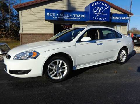 2016 Chevrolet Impala Limited for sale at VanderHaag Car Sales LLC in Scottville MI