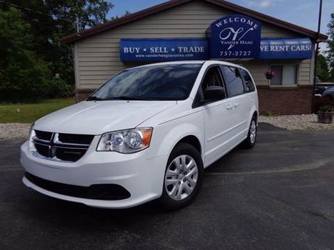 2014 Dodge Grand Caravan for sale at VanderHaag Car Sales LLC in Scottville MI