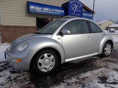 2001 Volkswagen New Beetle for sale at VanderHaag Car Sales LLC in Scottville MI