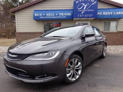 2015 Chrysler 200 for sale at VanderHaag Car Sales LLC in Scottville MI