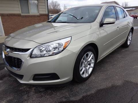 2016 Chevrolet Malibu Limited for sale at VanderHaag Car Sales LLC in Scottville MI