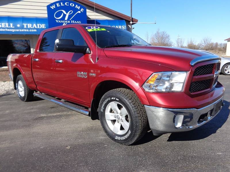 2014 RAM Ram Pickup 1500 for sale at VanderHaag Car Sales LLC in Scottville MI