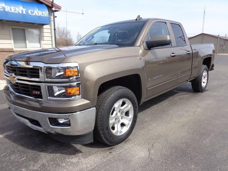2015 Chevrolet Silverado 1500 for sale at VanderHaag Car Sales LLC in Scottville MI