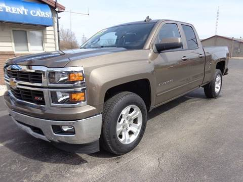 2015 Chevrolet Silverado 1500 for sale at VanderHaag Car Sales LLC in Scottville MI