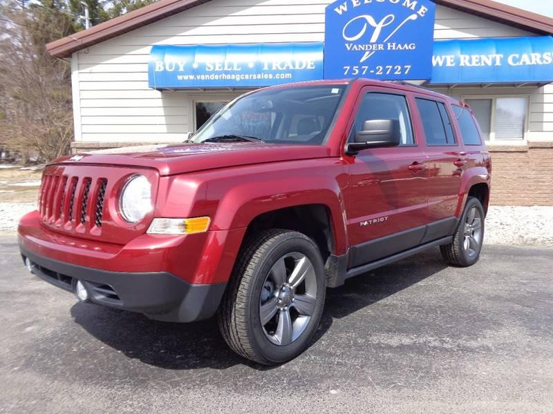 2015 Jeep Patriot for sale at VanderHaag Car Sales LLC in Scottville MI