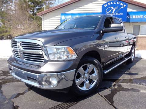 2016 RAM Ram Pickup 1500 for sale at VanderHaag Car Sales LLC in Scottville MI