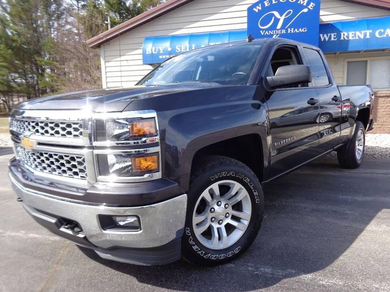 2014 Chevrolet Silverado 1500 for sale at VanderHaag Car Sales LLC in Scottville MI