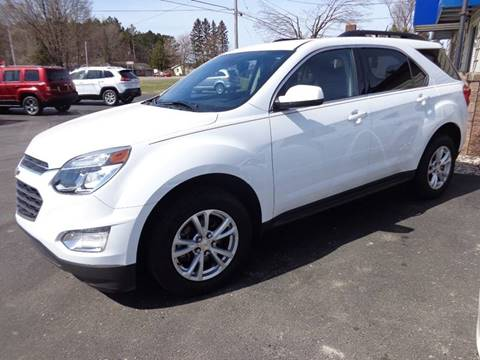 2016 Chevrolet Equinox for sale at VanderHaag Car Sales LLC in Scottville MI