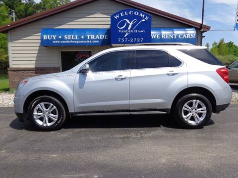 2015 Chevrolet Equinox for sale at VanderHaag Car Sales LLC in Scottville MI