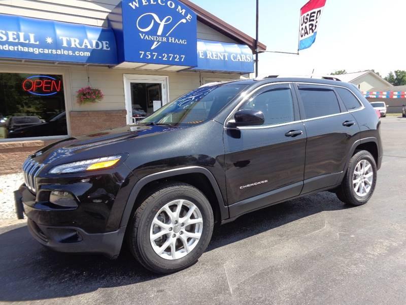 2015 Jeep Cherokee for sale at VanderHaag Car Sales LLC in Scottville MI