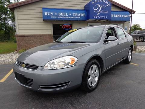 2007 Chevrolet Impala for sale at VanderHaag Car Sales LLC in Scottville MI
