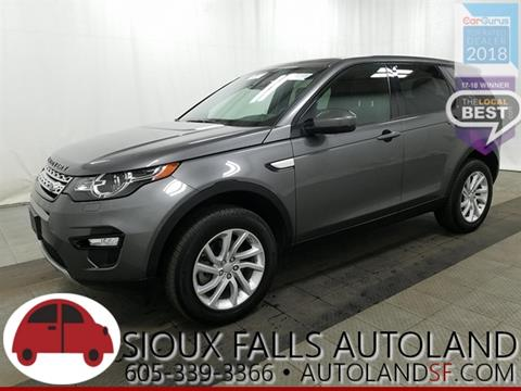 2016 Land Rover Discovery Sport for sale in Sioux Falls, SD