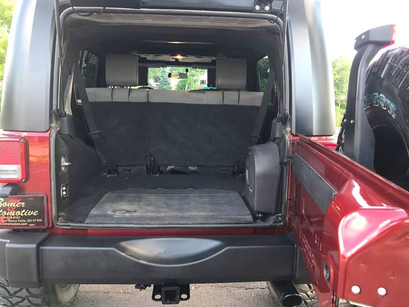 2008 Jeep Wrangler Unlimited 4x4 Rubicon 4dr SUV w/Side Airbag Package - Sioux Falls SD