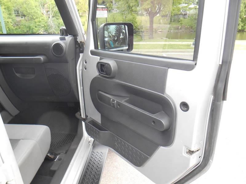 2010 Jeep Wrangler Unlimited 4x4 Sport 4dr SUV - Sioux Falls SD