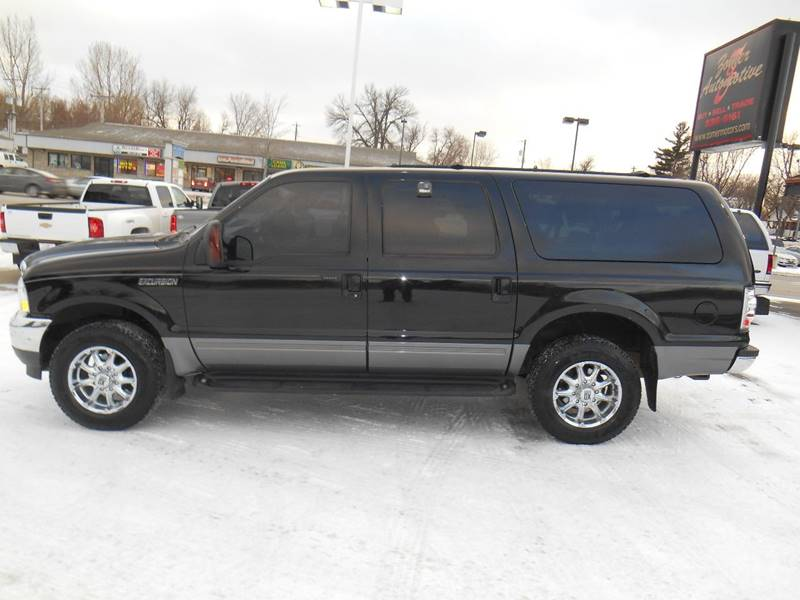 Ford Excursion XLT In Sioux Falls SD Zomer Automotive - 2002 excursion