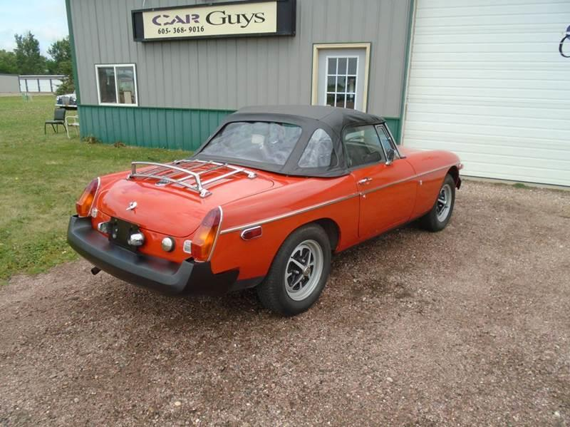 1976 MG MGB  - Tea SD