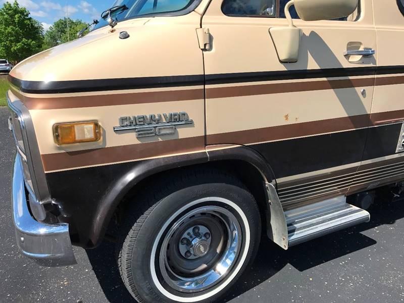 1984 Chevrolet G20 Luxury Class B Camper Van - Grand Rapids MI