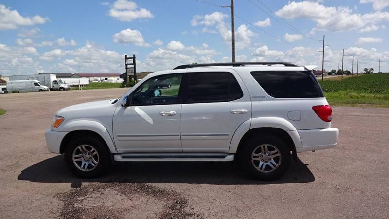 2007 Toyota Sequoia Limited 4dr SUV 4WD - Tea SD