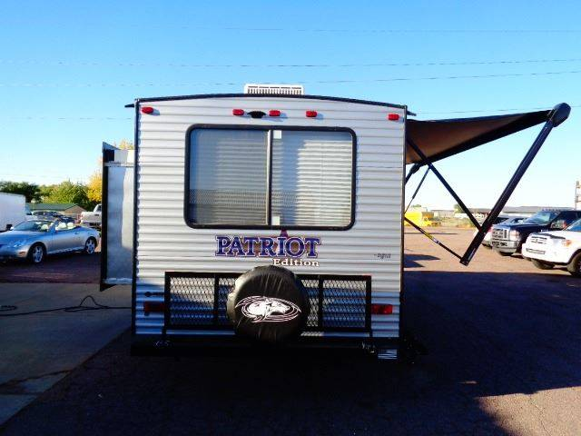 2020 SOLD SOLD SOLD Forest River Cherokee Patriot 23MK LIMITED  - Tea SD