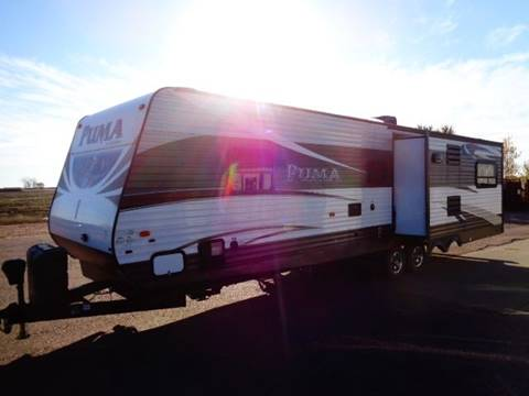 2015 SOLD SOLD SOLD Forest River Puma 31RDKS