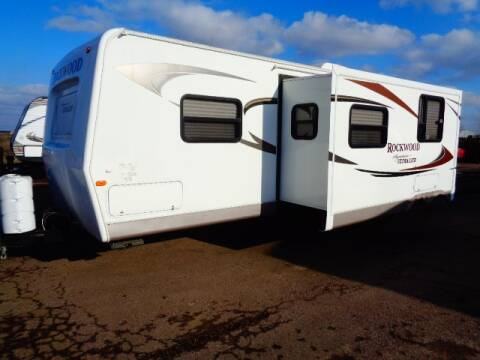2011 SOLD SOLD SOLD Forest River Rockwood  Ultra Lite 8317rkss