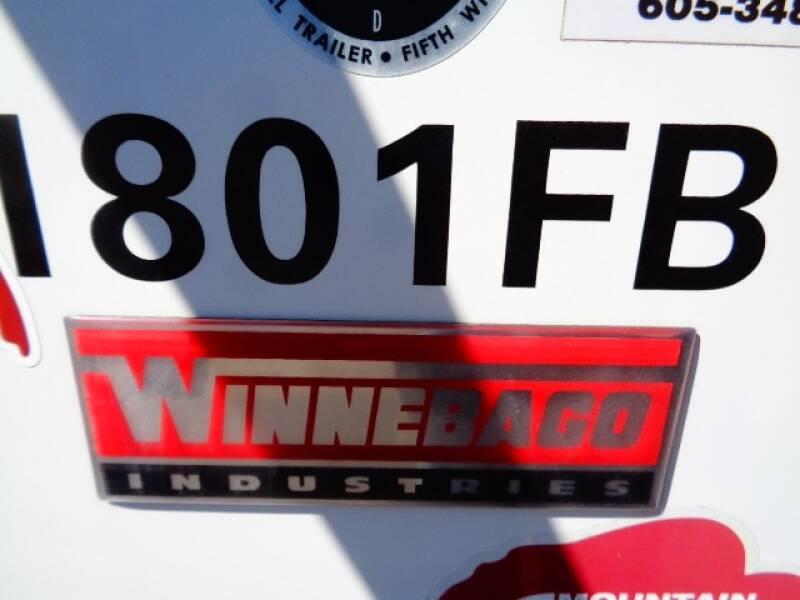 2015 SOLD SOLD SOLD Winnebago MINNIE 1801FB  - Tea SD