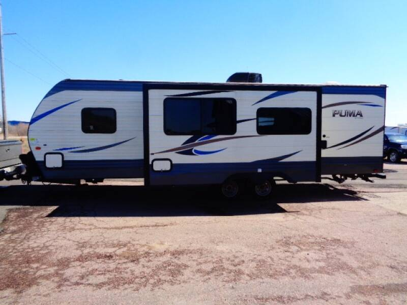 2018 SOLD SOLD SOLD Forest River PUMA PALIMINO 28FQDS  - Tea SD