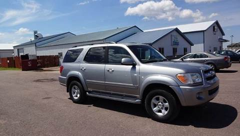 2005 Toyota Sequoia for sale at Goldammer Auto in Tea SD