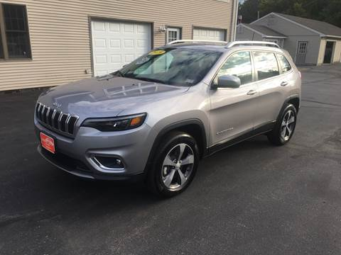 2019 Jeep Cherokee for sale in Fremont, NH