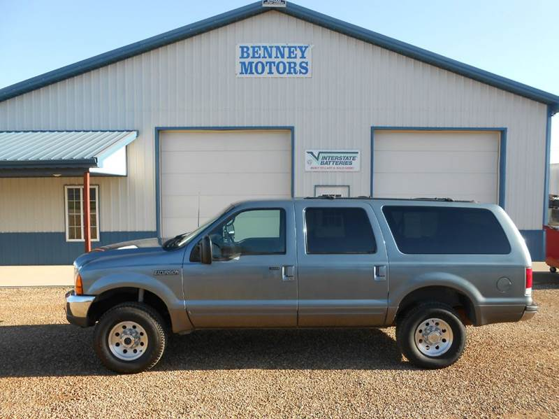 Ford Excursion Xlt Wd Dr Suv Parker Sd